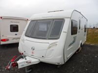 SWIFT ACCORD 55 *** NOW REDUCED *** FIXED BED *** TOURING CARAVAN