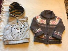 2 items baby girl size 12/18 months used £5