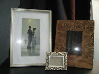 Photo Frames, Candle Holders, and Other