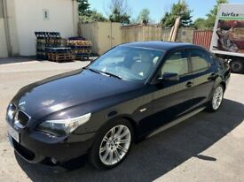 2007 07 BMW 525d M Sport, Individual Paint & Leather, FBMWSH and Low Mileage