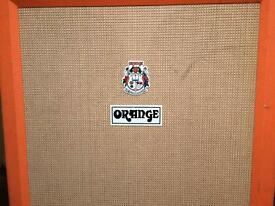 ORANGE PPC412 4X12 GUITAR CAB W/ CELESTION VINTAGE 30'S