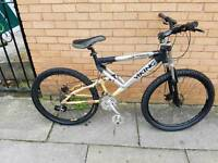 Viking cobra mountain bike with 26 wheel size and 19 inch frame
