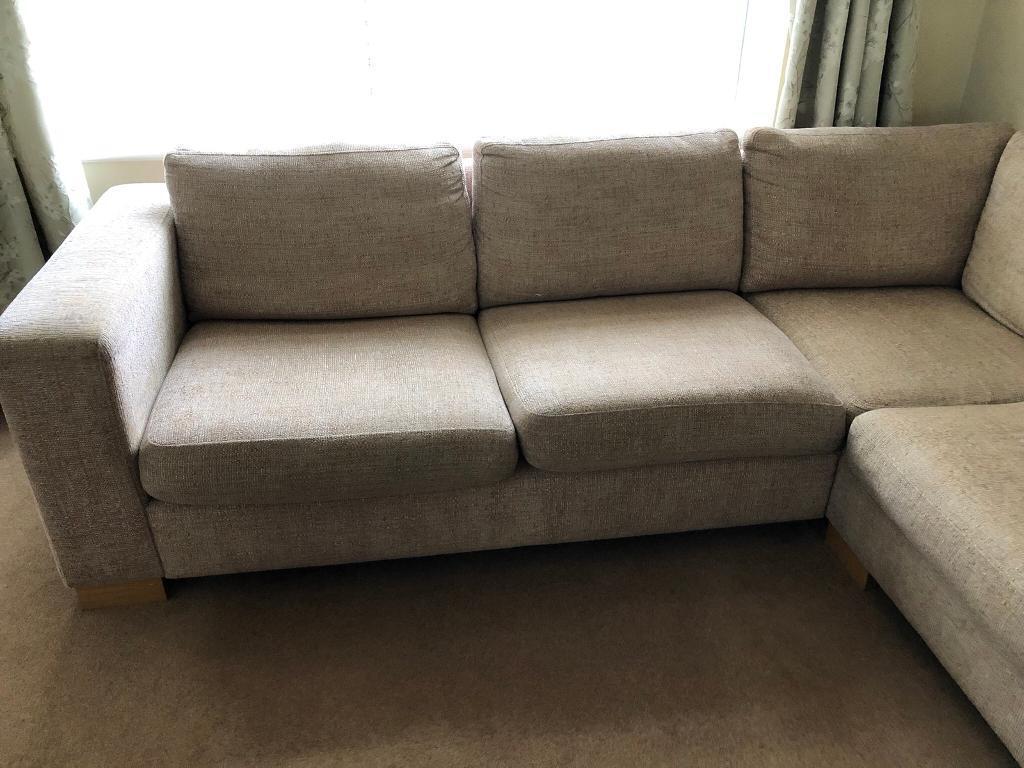 John Lewis Beige Corner Sofa In Romiley Manchester Gumtree