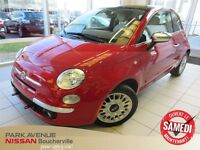 2012 Fiat 500 Lounge - * Toit * Bluetooth *