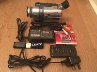 Sony digital 8 camcorder