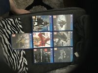 PlayStation 4/ PS4 games bundle