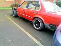 Bmw E30 316 Red Saloon