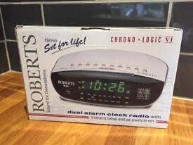 Roberts Radio alarm clock *new*