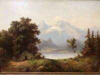 Guido Hampe 1839-1902 Gemälde Bonn - Tannenbusch Vorschau