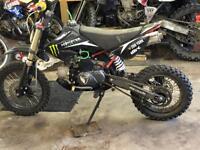 110cc Demon x (stomp) pit bike