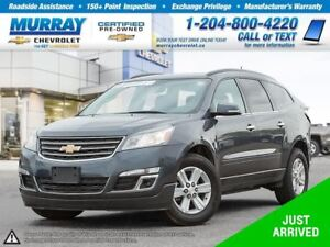 2014 Chevrolet Traverse 1LT *Heated Seats, Remote Start, OnStar*