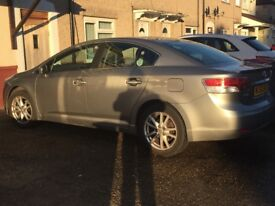 2010 Toyota Avensis 2.0 d4d Tr saloon £3650 Ono 07487404723