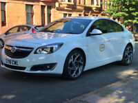 Private Hire Taxi for rent,Vauxhall Insignia 1.6 glasgow council , Uber Network etc