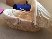 Mamas and Papas Moses Basket - Brand New with Tag