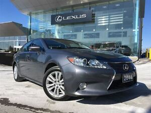 2014 Lexus ES 350 Bluetooth Leather Heated and Cooled Seats