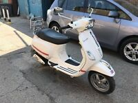 PIAGGIO VESPA S50 WHITE 2011 EXCELLENT RUNNER HPI CLEAR!!!