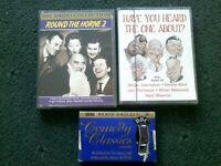 COMEDY CLASSICS: 'ALLO 'ALLO! VIDEOTAPE & 3 CASSETTES - incl. ROUND THE HORNE 2