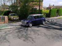 rover mini 1990 full mot good all round con.