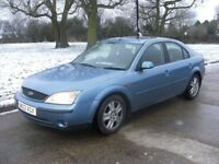 ford mondeo ONLY 121K reliable car, good engine, gearbox, clutch , runs and drives perfect