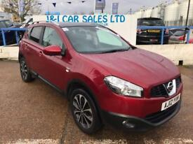 NISSAN QASHQAI 1.5 N-TEC PLUS DCI 5d 110 BHP A GREAT EXAMPLE INSI (red) 2012