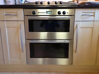 Neff double oven and 5 burner gas hob
