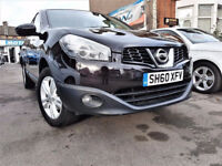 (27800 Miles) -- 2010 Nissan Qashqai 1.6 -- (New Shape) Low Mileage -- Part Exchange OK -- CHEAP