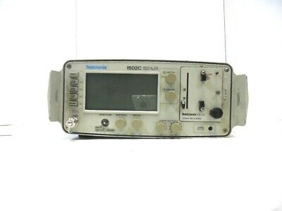 Tektronix 1502c Metallic Tdr Cable Tester As Is .