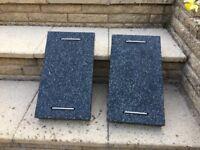 Granite parasol weight slabs