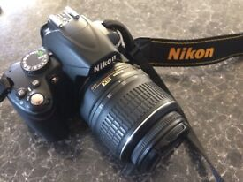 Selling my camera as I want to up grade, it has had very little use and in great condition