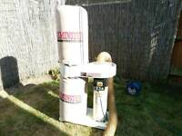 Axminster chip extractor