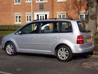 VW TOURAN 2.0 TDI 6 SPEED 7 SEATER MPV FULL SERVICE HISTORY CAMBELT CHANGED VERY CLEAN CAR MAY P/X