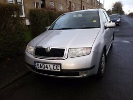 Skoda Fabia 2004 1.2 Comfort 5dr SMOOTH DRIVE, CLEAN AND RELIABLE
