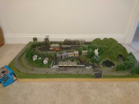 N Gauge Train set Layout + Extras