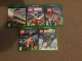 Games for X Box one