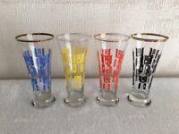 Vintage Highball Glasses