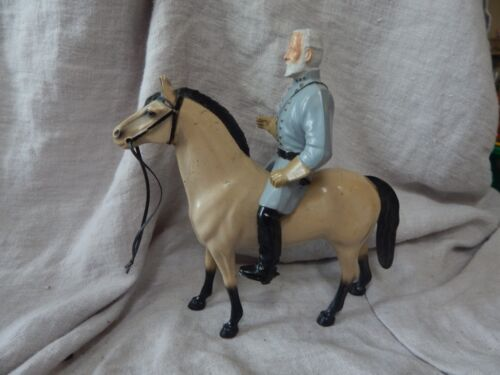 Vintage 1950s Hartland Robert E. Lee Toy with Horse