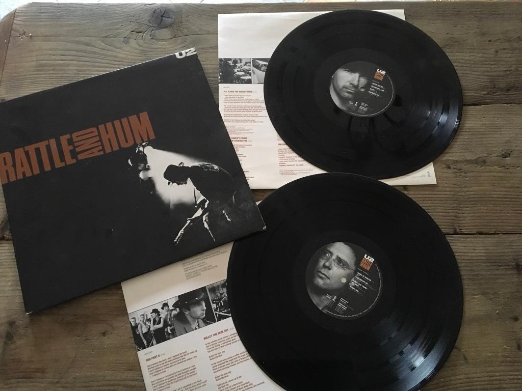 U2 RATTLE HUM DOUBLE VINYL LP ALBUM | in Pontypridd