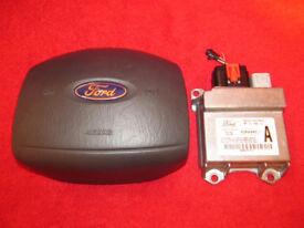 Ford Transit Airbag & Airbag Restraints Control Module ECU Genuine mk6 2000-2006 OE