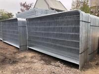 🔩 HERAS FENCE PANELS - NEW - TEMPORARY SITE SECURITY
