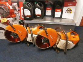 Stihl TS410 cutoff saws. Fully serviced with new diamond blades fitted. £325 each.