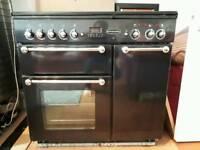 Rangemaster Professional 90 dual fuel cooker