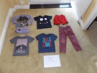Boys Clothes - 5 - 6 years