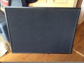 Large Black Felt Cork Board / Notice Board - Good Condition £22 (RP £33)