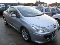 PEUGEOT 307 2.0 HDi Sport 2dr (silver) 2007