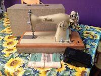 Vintage Cresta Electric Heavy Duty Sewing Machine