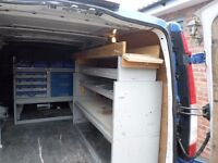 racking for a van
