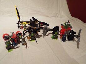 Lego Sets 8056, 8057, 8058, 8059 - Atlantis