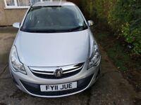 Vauxhall corsa 1.4 se facelift model year 2011 mot fsh