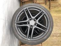 Original 19 inch AMG Mercedes alloys with tyres