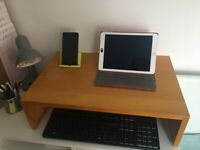2 Computer/laptop table/holder or bed holder and Dell keyboard